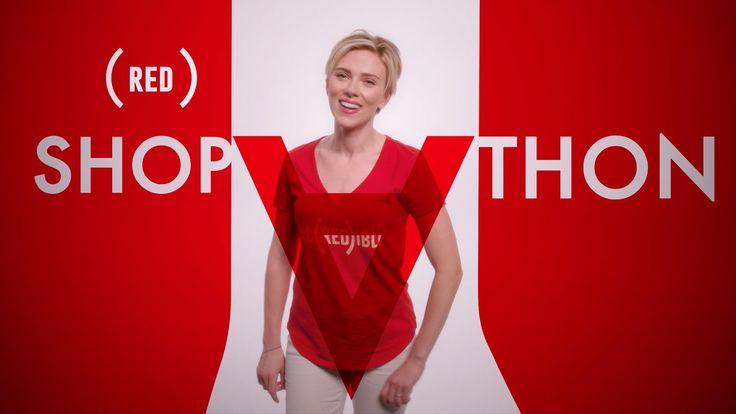 Scarlett Johansson, Barry Manilow & Jimmy Kimmel star in the (RED) SHOPA...