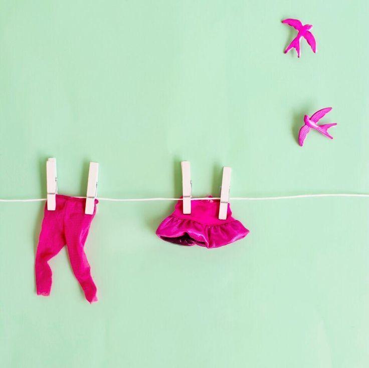 Handmade colourful earrings - Pink Birds #statementearrings #funkyaccessories