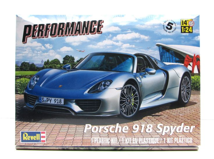 porsche 918 spyder revell 85 4329 1 24 new car model kit products pintere. Black Bedroom Furniture Sets. Home Design Ideas