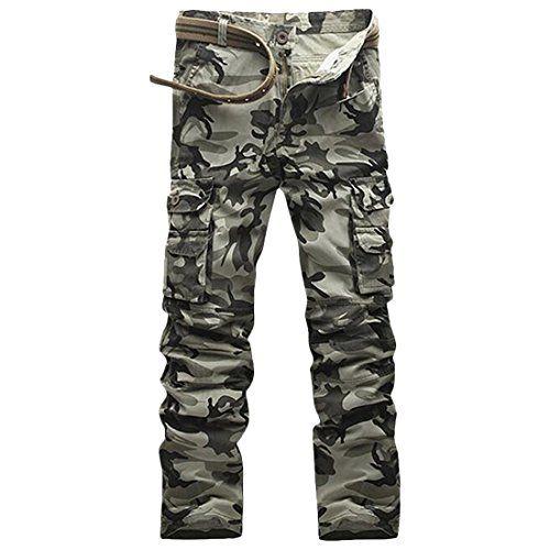 Partiss Herren Military Camouflage Hose Baumwolle Jungen Https Www Amazon De Dp B06x973yyg Ref Cm Sw R Pi Dp Camouflage Hosen Camouflage Taktische Hosen