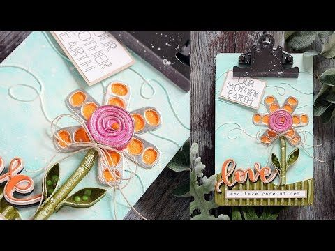 Mixed Medium with Shari Carroll: Earth Day - Simon Says Stamp Blog