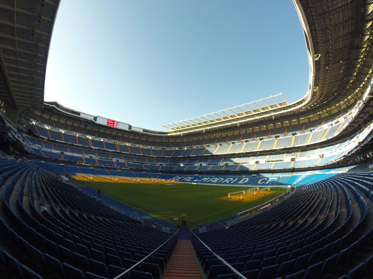 Santiago Bernabéu. Madrid, España.