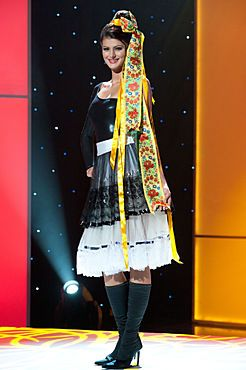 National Costume: Miss Universe Slovak Republic 2011
