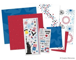 creative memories 4th of july additions