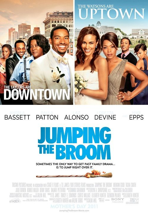 Paula Patton played the role of Sabrina Watson in the movie Jumping The Broom (2011)