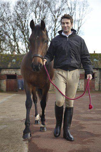 Toggi Equestrian Men's longues Bottes d'équitation Noir Taille 44 (UE: 10): Amazon.fr: Sports et Loisirs