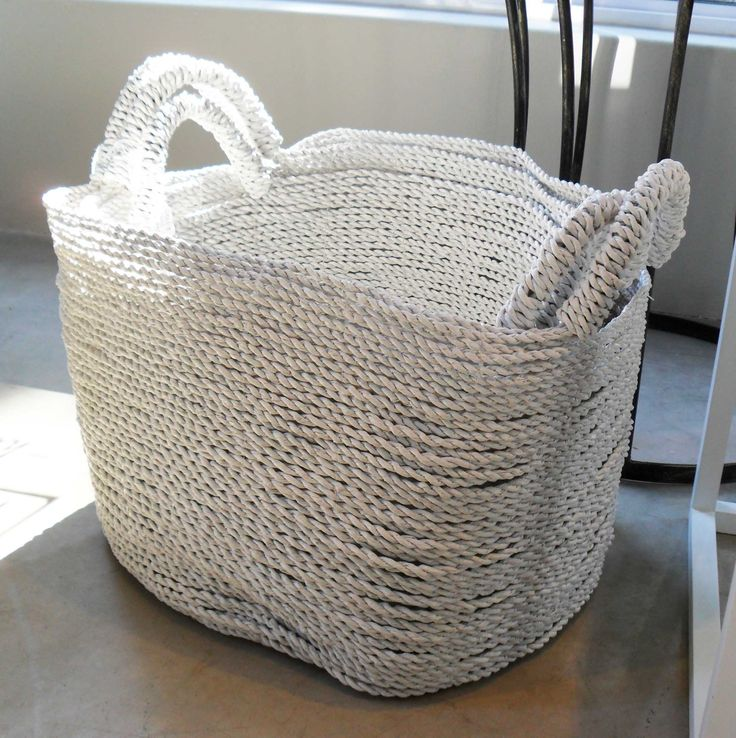 White Basket - Small, Medium and Large - Inside Out Home Boutique