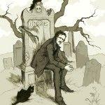 Cuentos de muerte y demencia, un libro con cuatro relatos de horror de Edgar Allan Poe, adaptados a cómic gracias a los dibujos del ilustrador Gris Grimly.