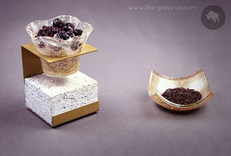 #Luxurious #Bar #Snacks Elegant handmade bar snacks presentation objects designed by www.the-glass-co.com