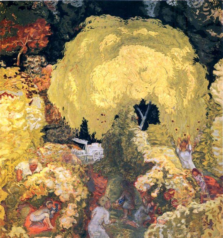 Пьер Боннар «Осень: сбор фруктов»