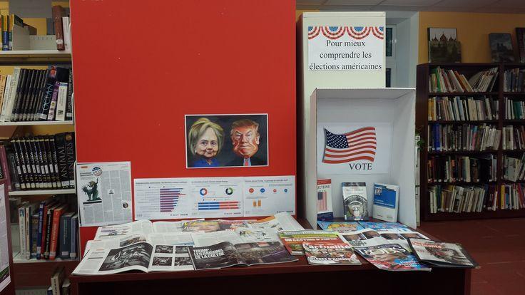 Vitrine thématique élections américaines
