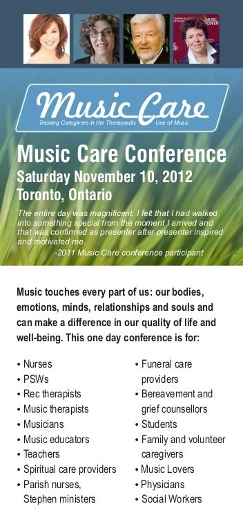 Using Music to Care