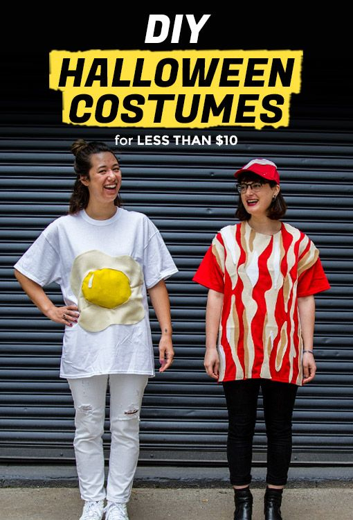 The Best DIY Breakfast Halloween Costume Is Bacon and Eggs | Extra Crispy