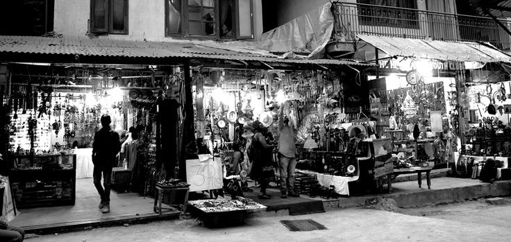 Street shopping in Manali