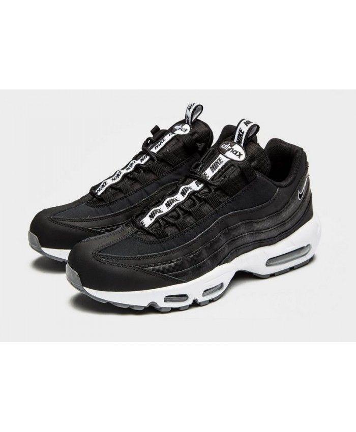 3609d7f427 Cheap Men's Nike Air Max 95 'Taped' Black Sneakers Buy | nike in ...