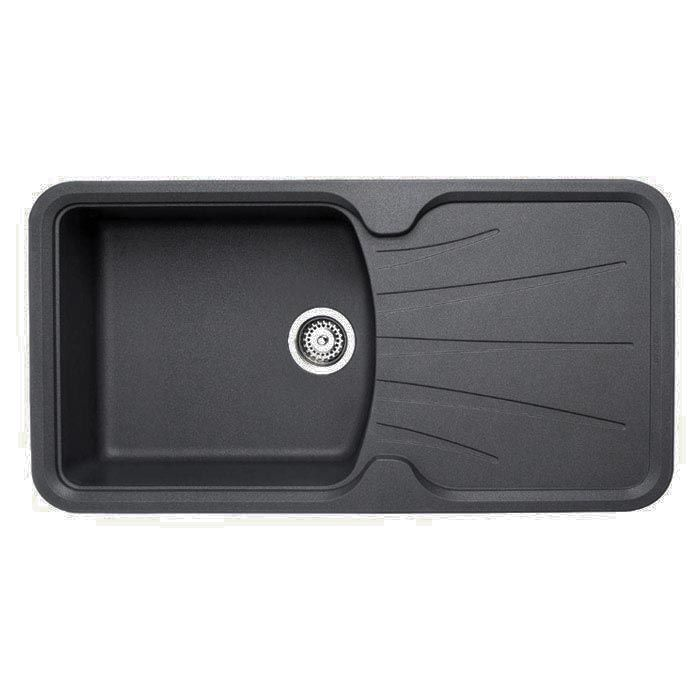 you may want this korona 100 inset kitchen sink 980lx510wx254h from the sink warehouse - Kitchen Sinks Sydney