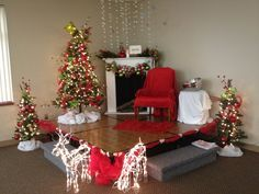 pictures with santa backdrops - Google Search