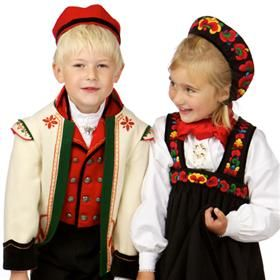 Barnebunad Øvre Hallingdal