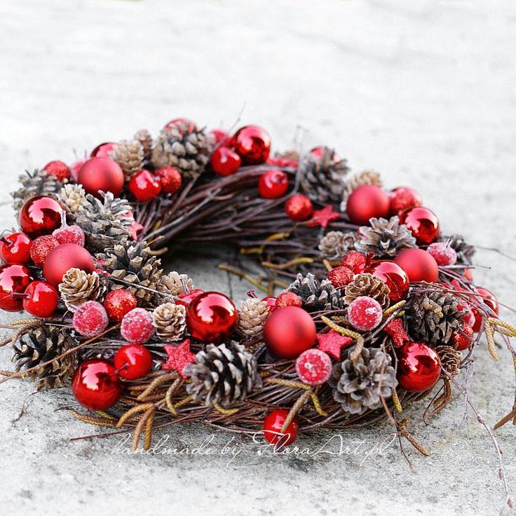 red on birch