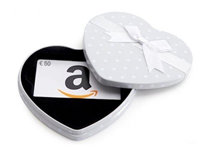 Solo oggi su Amazon 10 euro di sconto per chi acquista un buono regalo da 50 euro