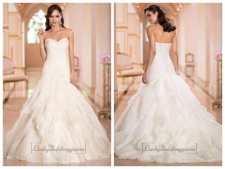 Sweetheart Ruched Bodice Pleated Wedding Dresses with Corset Back http://www.ckdress.com/sweetheart-ruched-bodice-pleated-wedding-  dresses-with-corset-back-p-2025.html  #wedding #dresses #dress #lightindream #lightindreaming #wed #clothing   #gown #weddingdresses #dressesonline #dressonline #bride
