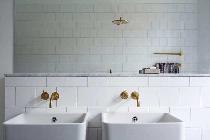 Vackra badrum i våningen på Södermalm - Badrumsdrömmar