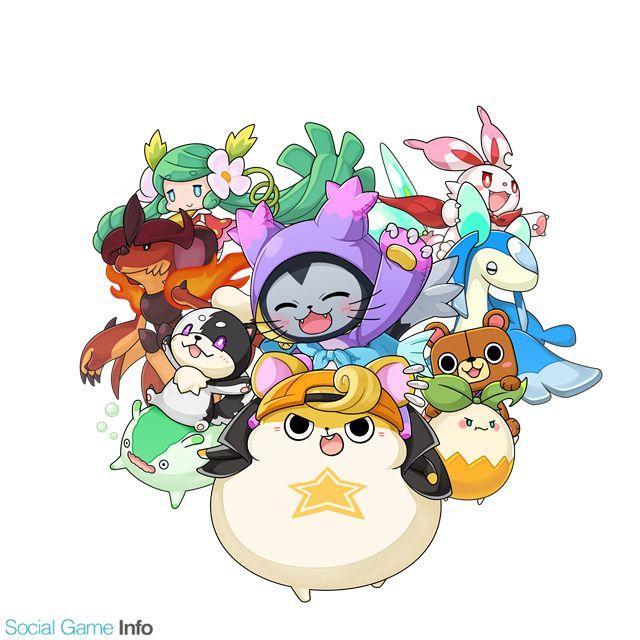 スクエニ、スマホ向けモンスター育成RPG『ぐるモン』を発表…世界観やメインビジュアル、オープニングアニメを公開!   Social Game Info
