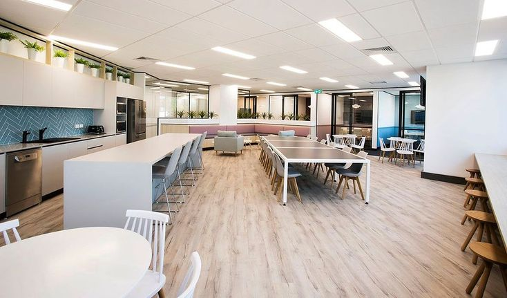We are LOVING this open space and colour palette. Let us know if we can design and fitout your space. Chat to us now: 96593387
