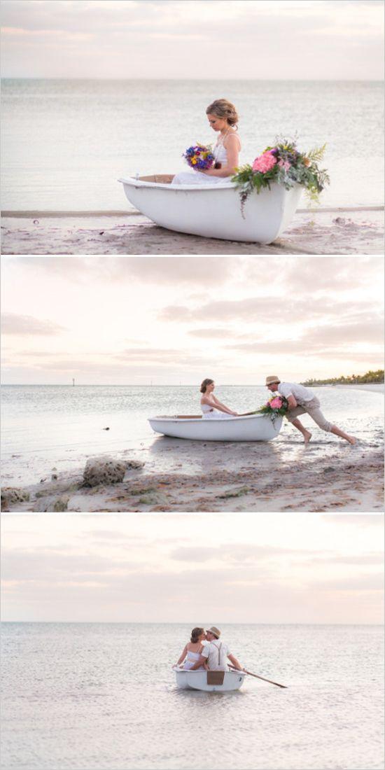 Hochzeitsfahrzeug am Strand