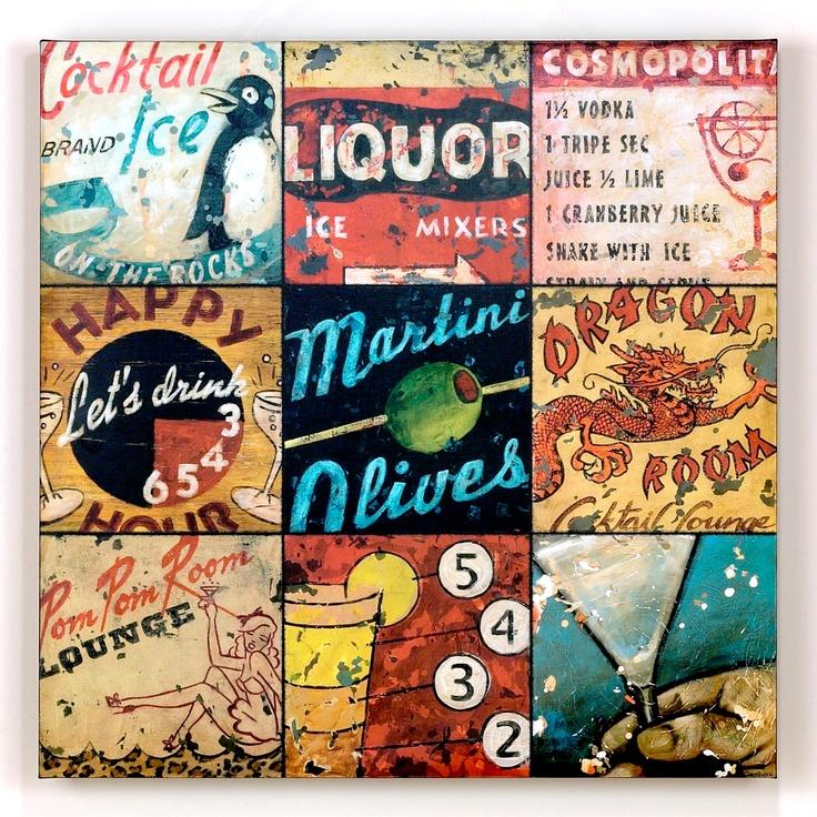 """Aaron Christensen """"Cocktail Hour""""-Aaron Christensen """"Cocktail Hour""""   World Market"""
