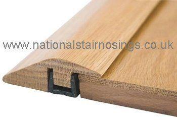 Solid Wood Hardwood Ramp Door Bar Threshold Strip For
