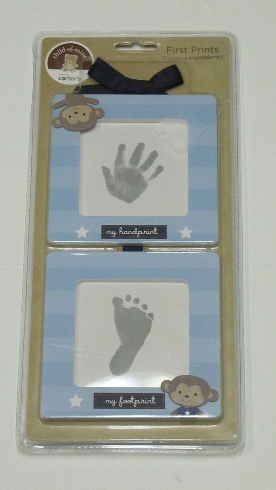 Carter S Child Of Mine First Prints Kit Handprint