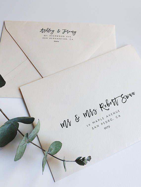 Wedding Envelope Template Address Envelope Template Diy Etsy Envelope Addressing Template Addressing Envelopes Wedding Wedding Invitation Envelopes