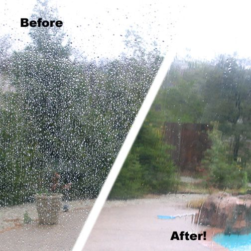 Remove Water Spots On Windows
