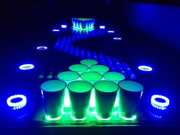 Interactive Beer Pong Table How To