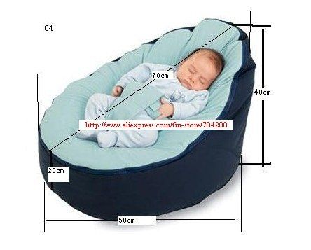 baby bean bag measurements