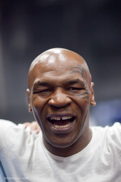 Mike Tyson. because ears taste good and beating your wife is fun. Asshole.