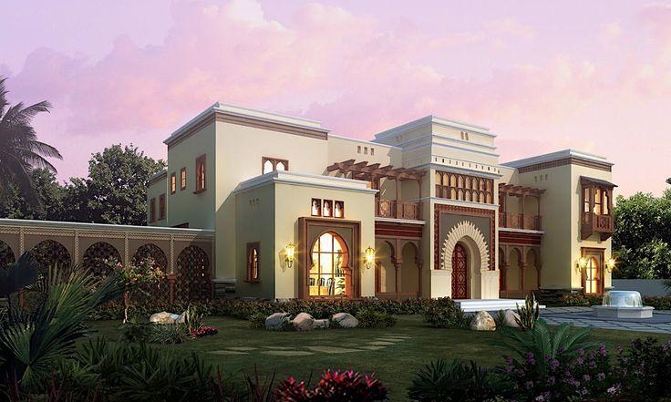 Arabic Style Villa Section 02 by dheeraj mohan at Coroflot.com