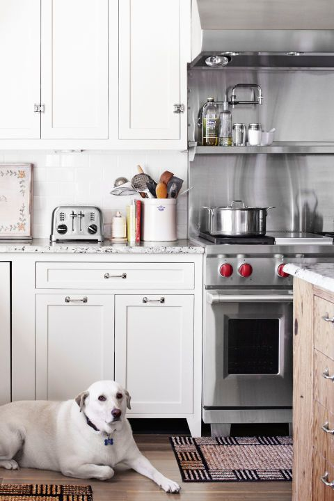 17 best images about kitchens on pinterest house tours for Country living light mahogany kitchen island