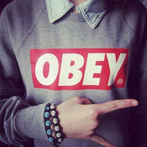 43 best OBEY images on Pinterest | Swag style My style and Girl swag