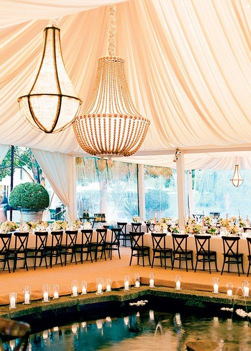 The 10 Things You MUST Do If You're Having a Tent Wedding