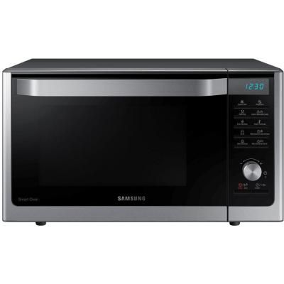 Countertop Convection Microwave Home Depot : Samsung 1.1 cu. ft. Countertop Convection Microwave in Stainless Steel ...