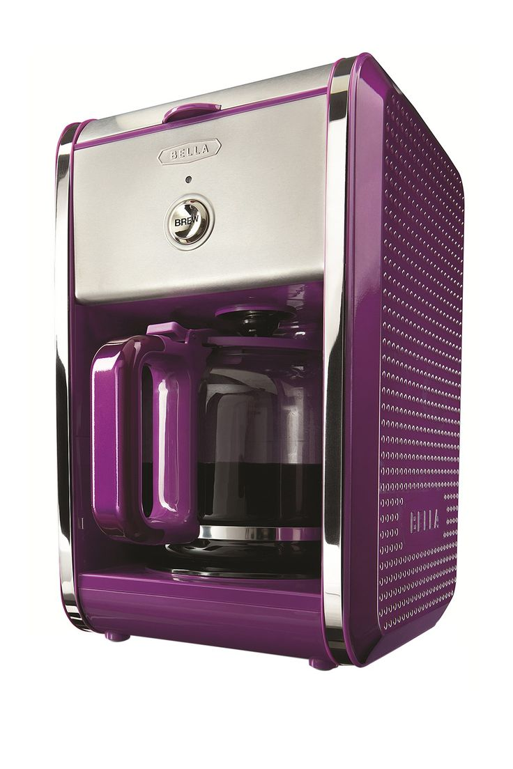 purple coffee maker