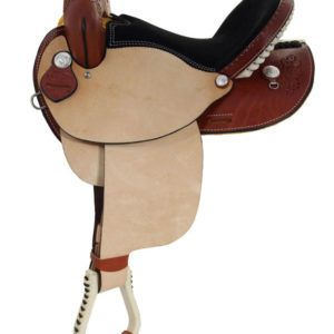 OAK LEAF BARREL RACING SADDLE 300