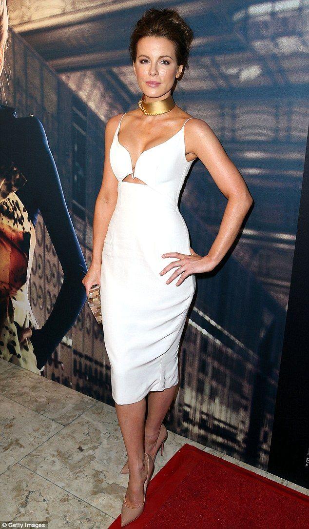 Goddess! Kate Beckinsale stunned in Zimmermann at the Battersea Power Station Global Launc...