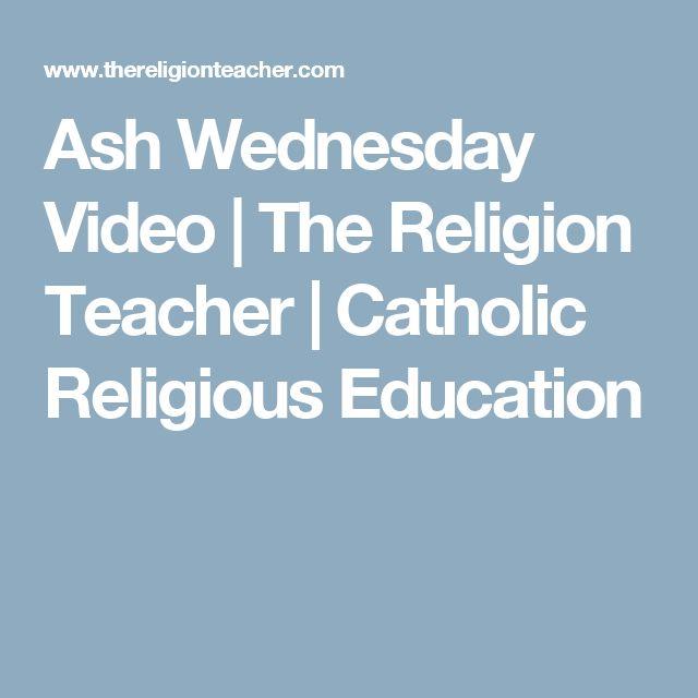 Ash Wednesday Video | The Religion Teacher | Catholic Religious Education