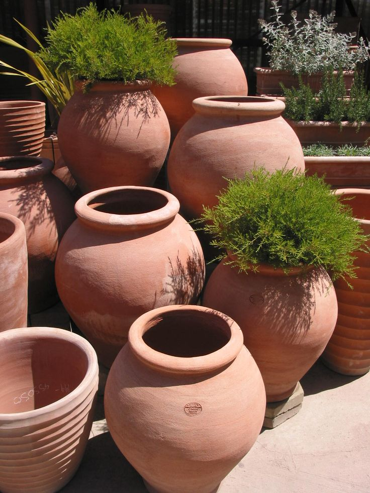 Frost Garden Pots 28 best terracotta pots images on pinterest potted plants our galestro clay italian terracotta pottery is frost proof and ready to elevate your garden all year long workwithnaturefo