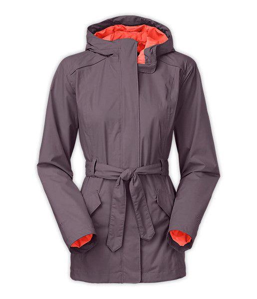 The North Face Celeste Rain Jacket - Coastal Grey #apexoutfitter