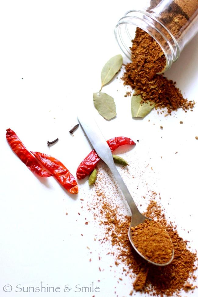 garam masala homemade spice | Food Styling | Pinterest
