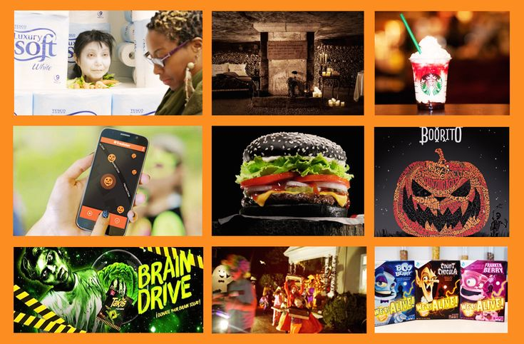 Brands love to have fun with Halloween. This is what they scared up last year. Have you seen any great Halloween campaigns this year?